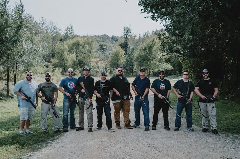 Jims Retirement Party @ Gun Range