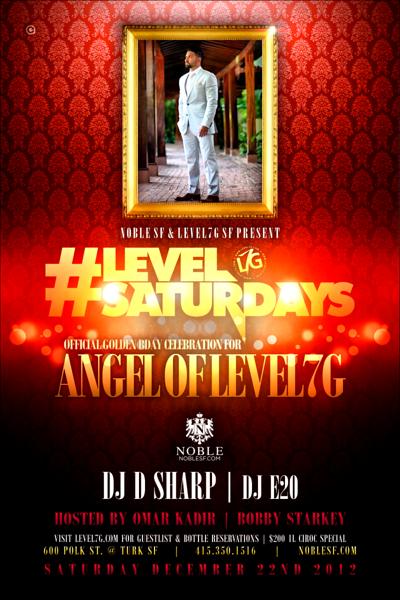 Level Saturdays @ Noble 12.22.12