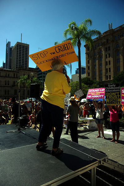 March in March 2014 - Brisbane