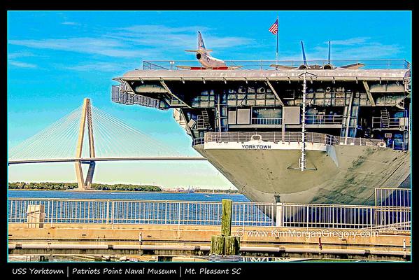 USS YORKTOWN; Patriots Point Naval & Maritime Museum
