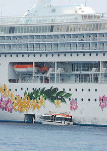 The Pride of Aloha cruise ship