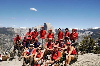 6/20/2005 - Yosemite Hike Day 3 : Glacier Point