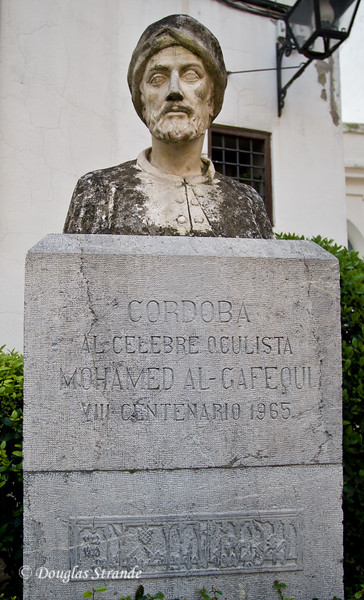 Thur 3/10 in Cordoba: Famous eye surgeon, performed cataract surgery with a hollow fish bone