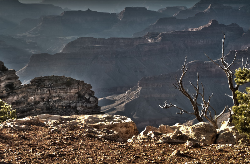 an HDR I took at Hopi Point on the South Rim of the grtand canyon.