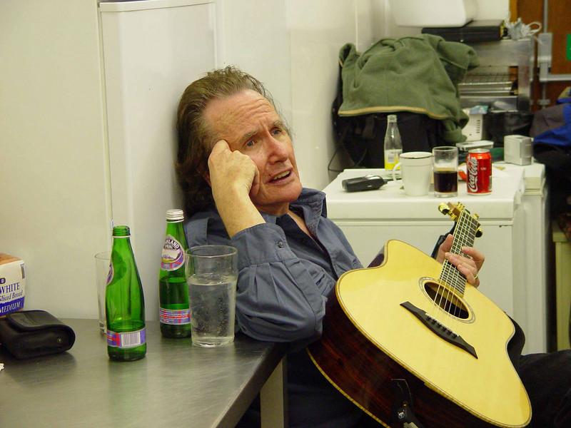 John Stewart in the Kitchen at The Turf Inn, Dalry, Scotland