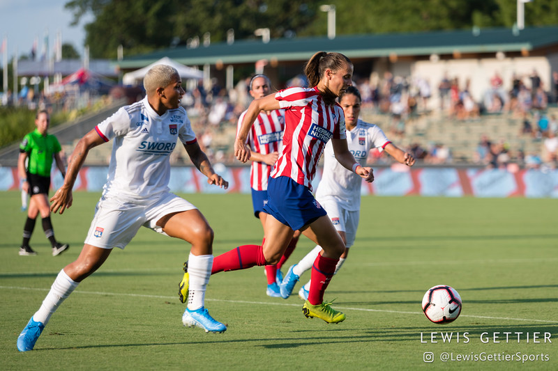 2019 Women's International Champions Cup - Olympique Lyonnais vs Atlético de Madrid
