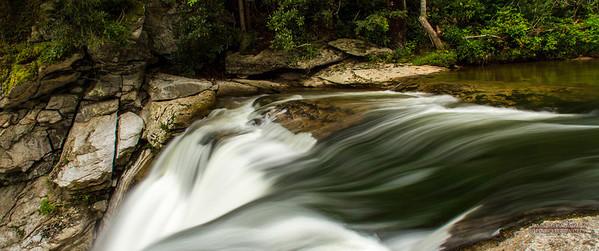 Elk River Falls, Ramadan, August 2013