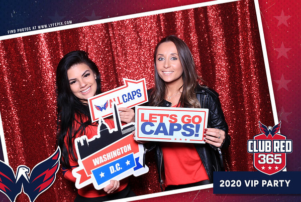 Washington Capitals 2020 VIP Party at MGM in Oxon Hill, Maryland