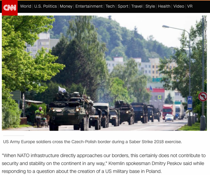 CNN - Saber Strike 18