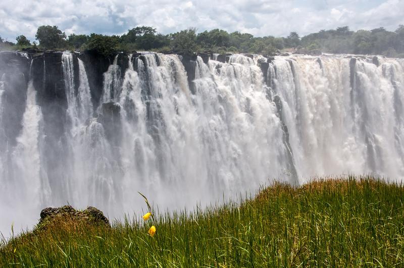 Victoria Falls in Mosi oa Tunya National Park, Zambia