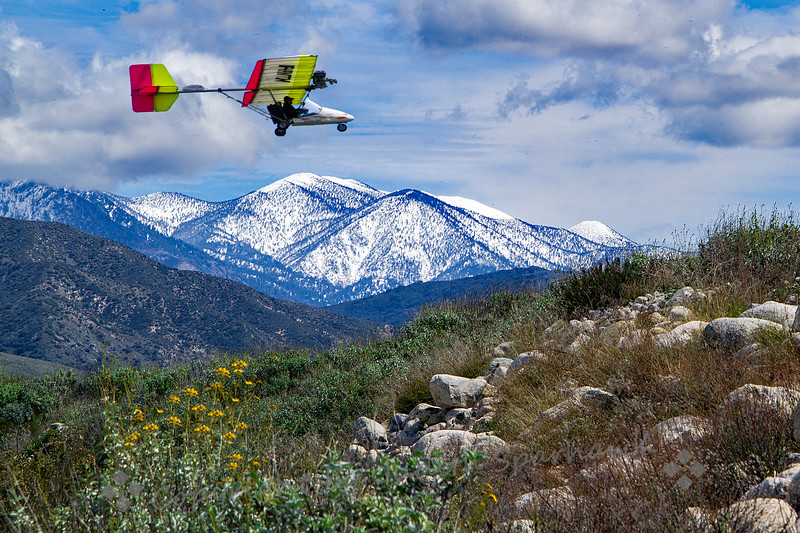 Ultra Lite Over Redlands - Judith Sparhawk