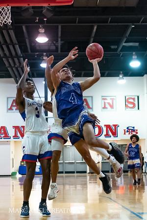 Broughton boys varsity basketball vs Sanderson. February 12, 2019. 750_6284