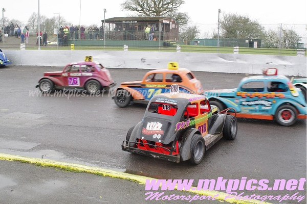 Rebels Racing, Northampton International Raceway, 9 April 2012