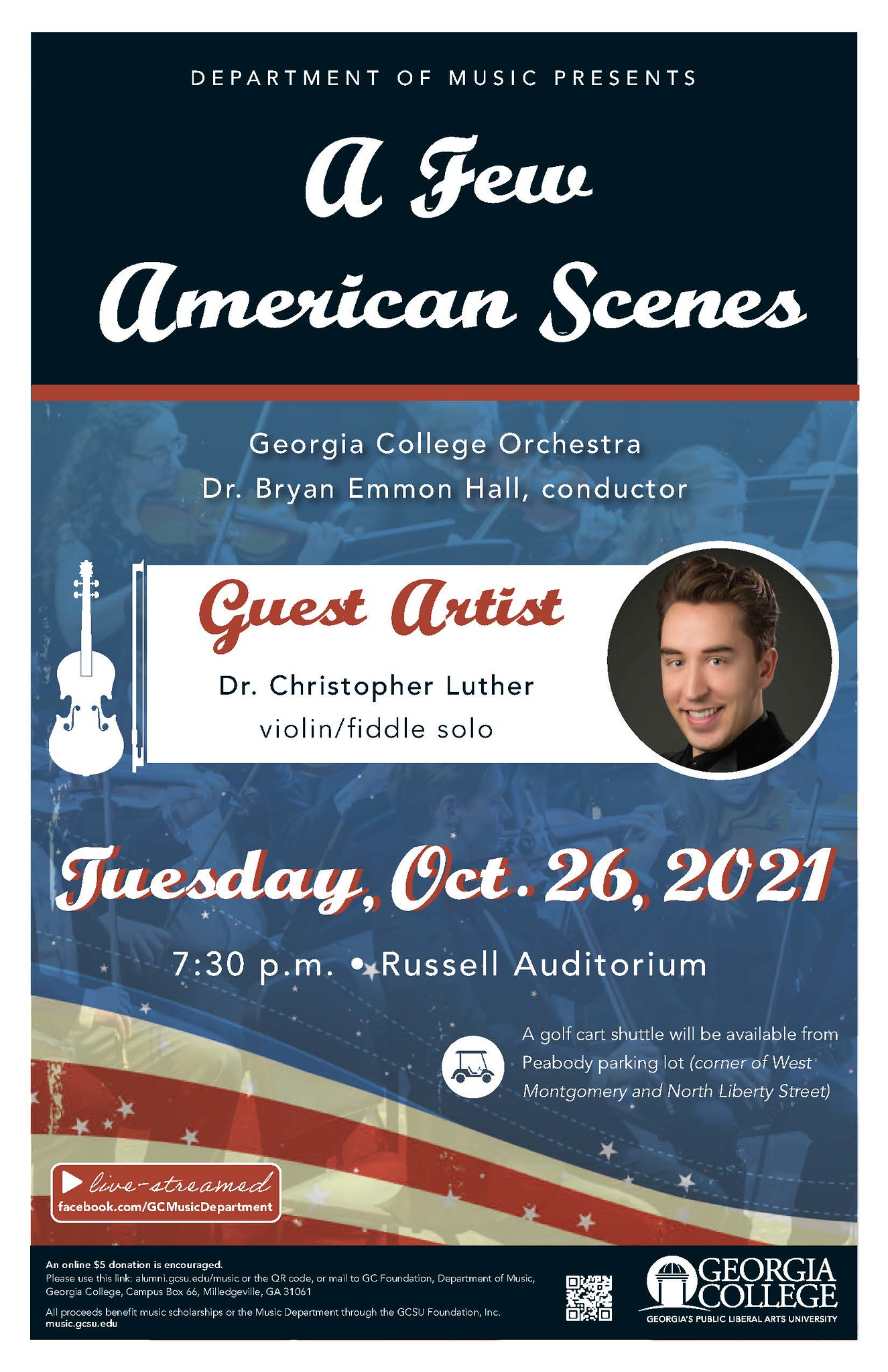 Please join us on Oct. 26 for this concert.