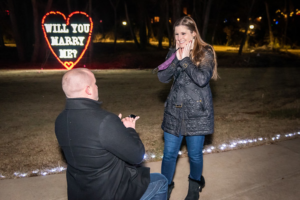 DePuy Wedding Proposal