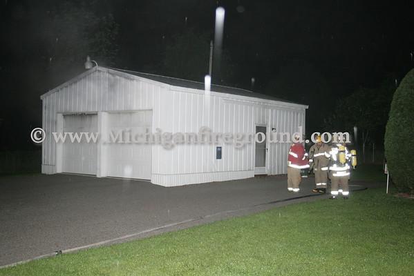 6/23/10 - Leslie garage fire, 3920 Tuttle Rd
