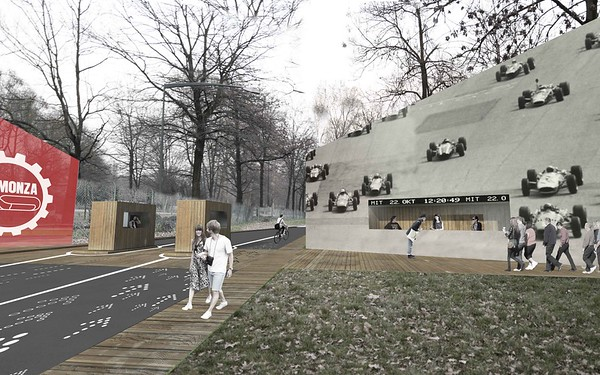 nuovo ingresso autodromo Monza