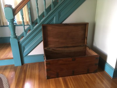 Sea chest and writing desk