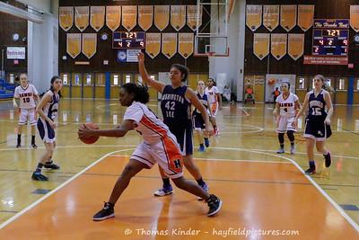 Girls Frosh Basketball vs Washington Lee 1/10/17