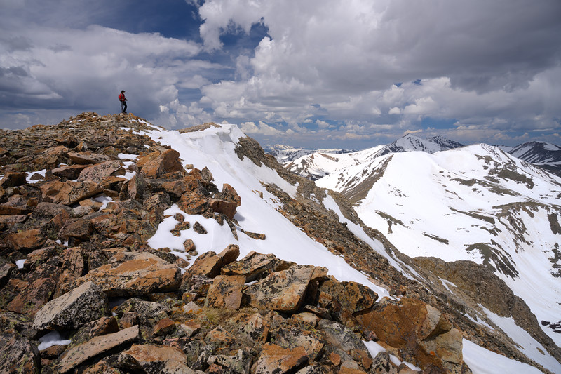 The Story from Square Top Mountain, Guanella Pass, CO