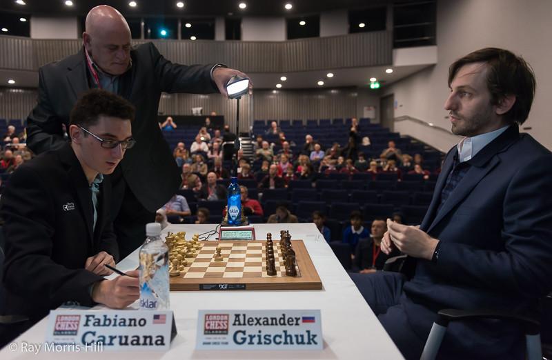 Round 5: Fabiano Caruana vs Alexander Grischuk