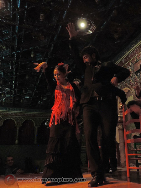 Flamenco in Spain, April 2014 - Torres Bermejas  Madrid
