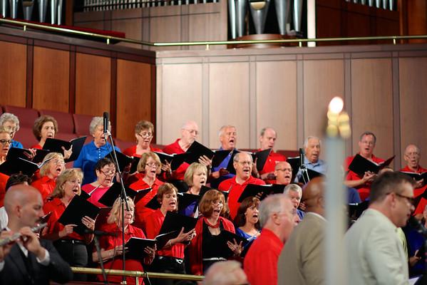 Choir in June 2013