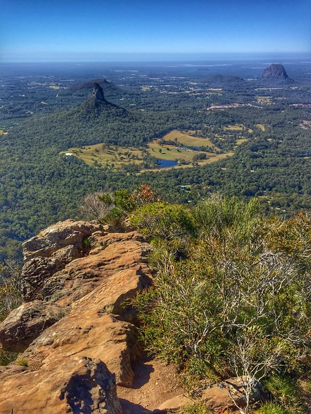 Summit views, Beerwah (556m)