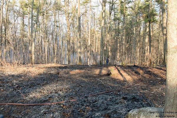 4 Alarm + Brush Fire - Hollis St, Dunstable, Mass 4/10/2021
