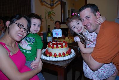 Greg's Baptismal Party