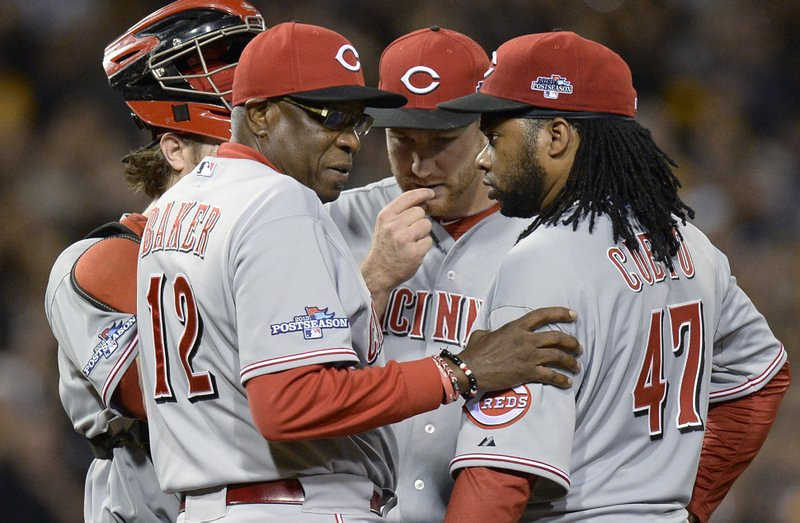 ". <p>4. DUSTY BAKER <p>We�re guessing, if he ever somehow DID win a World Series, he�d be the first one to drop dead from the shock. (unranked) <p><b><a href=\'http://bleacherreport.com/articles/1795115-cincinnati-reds-fire-dusty-baker-or-continue-to-underacheive\' target=""_blank\""> HUH?</a></b> <p>    (AP Photo/Don Wright)"