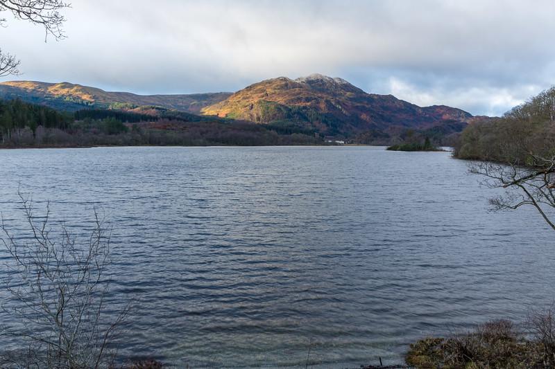 Ben Venue from the head of Loch Achray