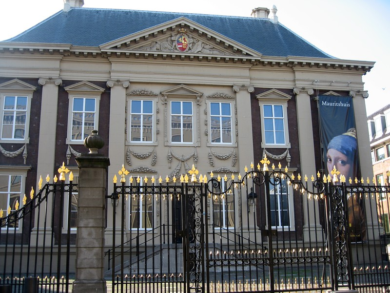 Mauritshuis, home to Johannes Vermeer's Girl with a Pearl Earring