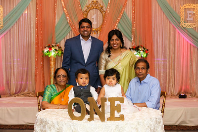 Happy 1st Birthday Esha & Ansh