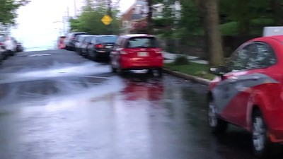 5-7-2020 Downhill Groundwater runoff from 5-6 rain