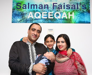 Salman Faisal's Aqeeqah