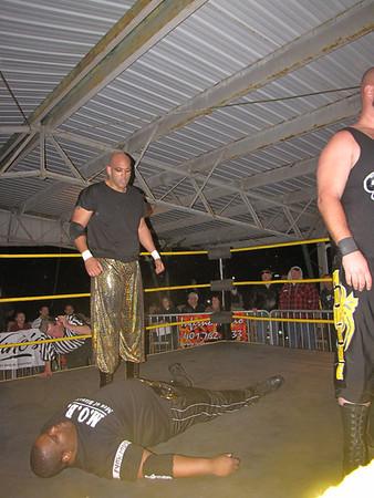 New World Wrestling Extreme   Blood & Bones  October 30, 2010