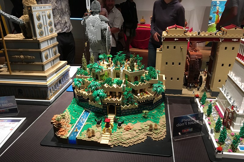 LEGO exhibit at Te Papa