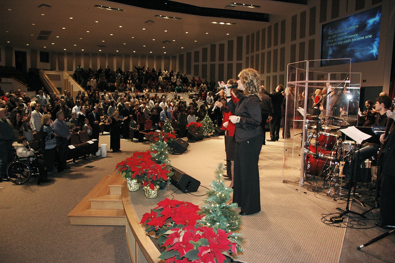 Transition into new Sanctuary - December 15, 2007