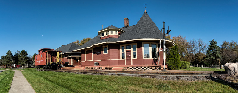 Witch's Hat Depot and Historic Village, South Lyon, Michigan