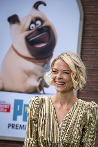WESTWOOD, CALIFORNIA - JUNE 02: Jaime King attends the Premiere of Universal Pictures' 'The Secret Life Of Pets 2' at Regency Village Theatre on Sunday, June 02, 2019 in Westwood, California. (Photo by Tom Sorensen/Moovieboy Pictures)