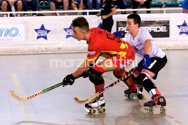 U15 Eurockey Cup 2017 day 4 - CP Manlleu vs Follonica Hockey 