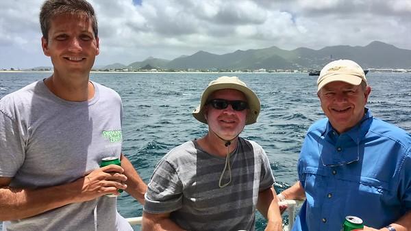 Sailing in St. Maarten