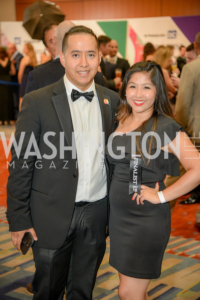 Carlos Delgado, Claudia Meneses,  The 36th Annual RAMMY Awards, Washington Convention Center, June 10th, 2018.  Photo by Ben Droz.