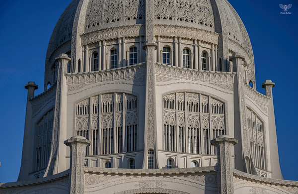Bahai Temple Chicago z7