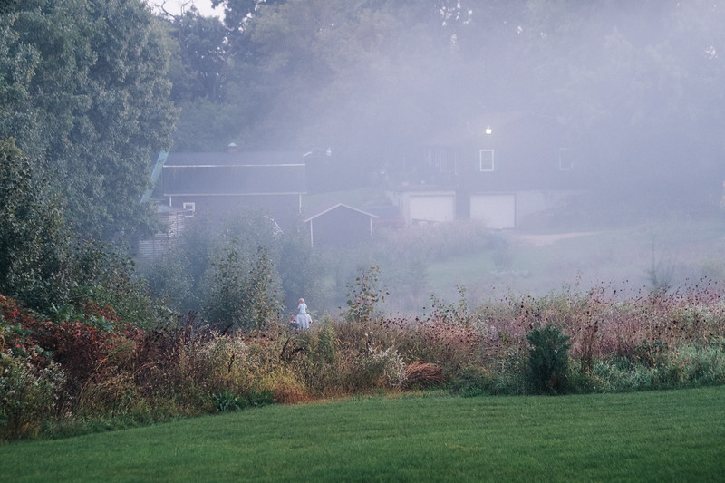 Foggy Night at Home