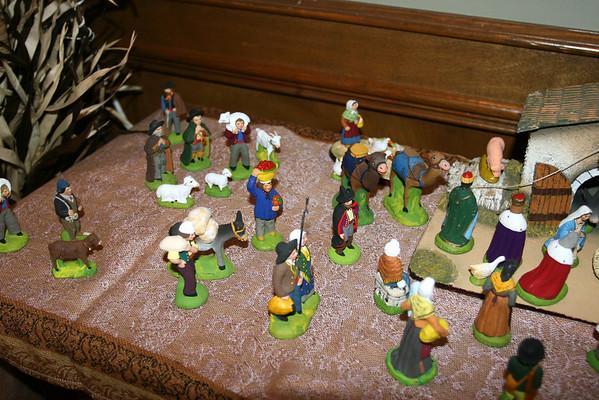 Christmas Decorations and Santons 2008