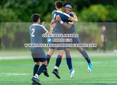10/1/2019 - Boys Varsity Soccer - Boston International vs Medford