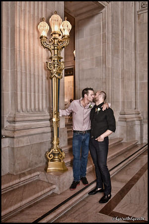 Bradley and David's Wedding, City Hall, San Francisco, 03/30/15.