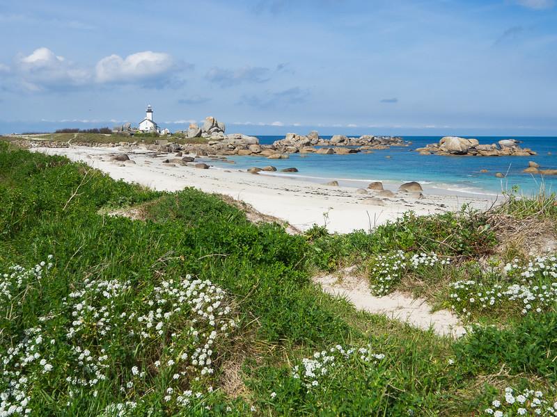 Lighthouse of Brignogan Plages